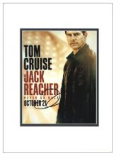 Tom Cruise Autograph Photo Signed